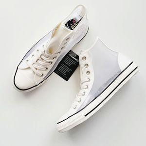 Converse CTAS Hi Vintage White/Black Mesh